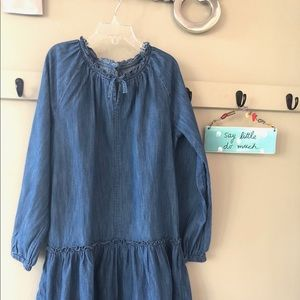 GAP Kids XL Denim dress lightly worn EUC